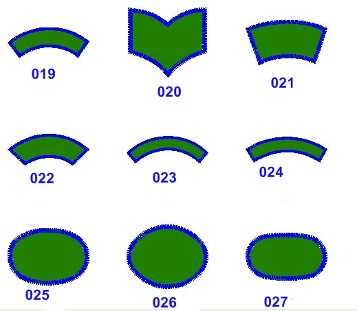 Patch Shapes