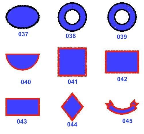 patch shapes. Black Bedroom Furniture Sets. Home Design Ideas